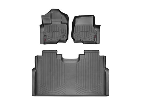 weathertech floor mats 2008 f150 2015 ford f 150 weathertech floor liners at carid ford