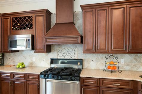 pre assembled cabinets lowes signature chocolate pre assembled kitchen cabinets the