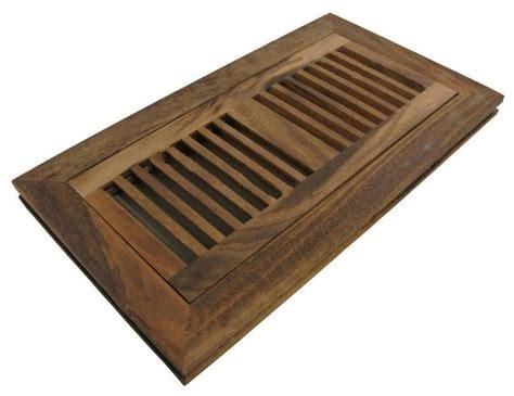 flush mount wood floor vent register unfinished