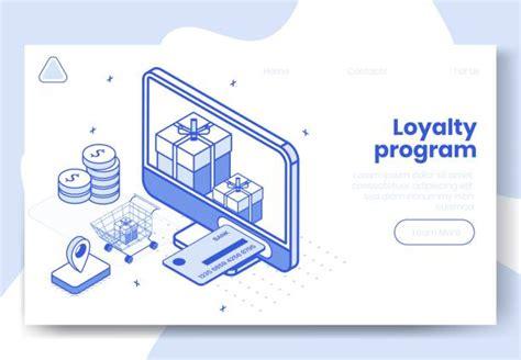 customer loyalty program illustrations royalty