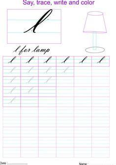 letter  worksheets images letters kindergarten
