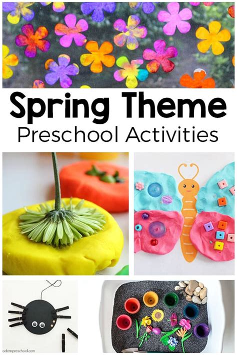 theme activities for preschool 972 | Spring Theme Activities for Preschool Pin