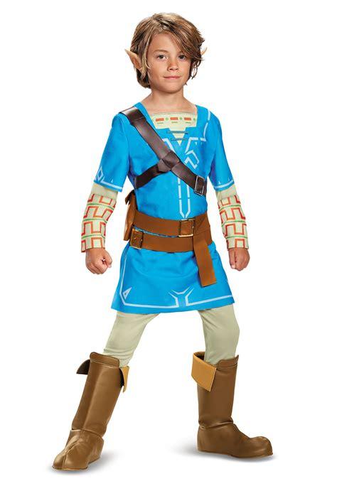 Legend Of Zelda Breath Of The Wild Link Deluxe Costume For