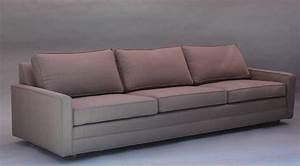 mid century modern sofa for sale at 1stdibs With mid century modern sectional sofa for sale