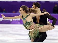 Olympics French ice skater suffers wardrobe malfunction