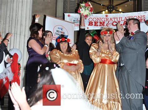 dawn french  married  weds  cornwall hotel