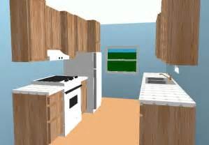 Corridor Shaped Kitchen by Galley Rta Kitchen Layout Rta Kitchen Cabinets