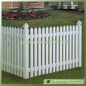 pvc blanc cloture clotures treillis et portails id de With barriere de jardin pvc