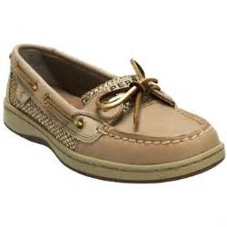 Gold Sperry Women's Angelfish Boat Shoes