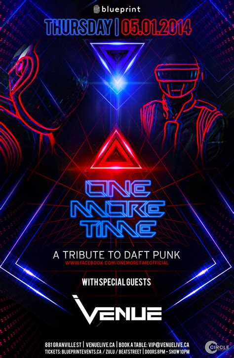 daft punk shows blueprint events one more time a tribute to daft punk