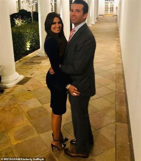 jr christmas guilfoyle kimberly don trump party holiday florida herself shared week she last