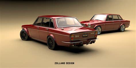 bo zolland - Custom volvo 164