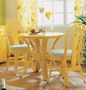 Petite Table Salle À Manger : petite table ronde brin d 39 ouest ~ Melissatoandfro.com Idées de Décoration