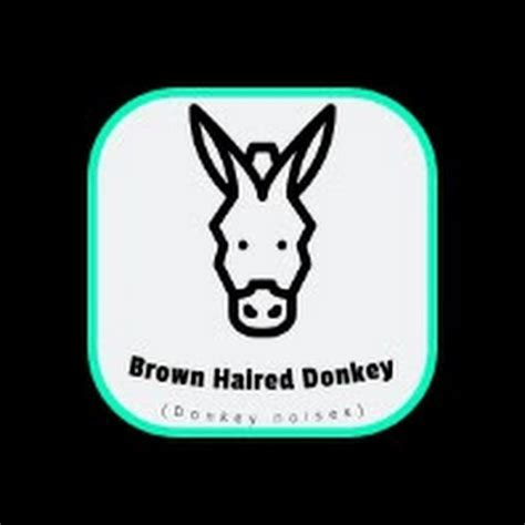 brown haired donkey youtube