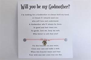 Will, You, Be, My, Godparent, Invitation, Card, With, Waxed, Cord