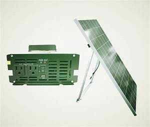 Backup 1kw Solar Generator  Powered By 240