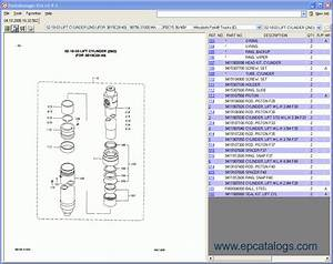Mitsubishi Forklift Trucks Spare Part Book Catalog Download