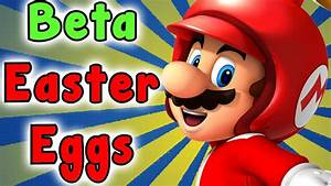 New Super Mario Bros Wii Beta Secrets And Easter Eggs