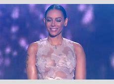 X Factor Mel B flashes nipples as she returns following