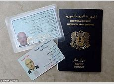 MailOnline reporter bought SAME Syrian passport used by
