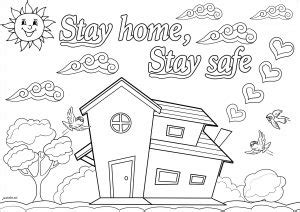 People Stay At Home