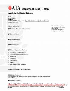 aia b305 fill online printable fillable blank pdffiller With aia a305 template