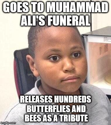 Ali Meme - don t worry only bad luck brian got stung imgflip