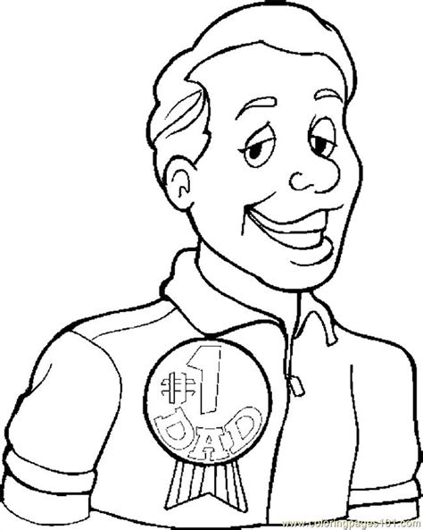 dad  coloring page  fathers day coloring pages