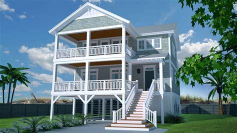 casual beach house plan nc architectural designs