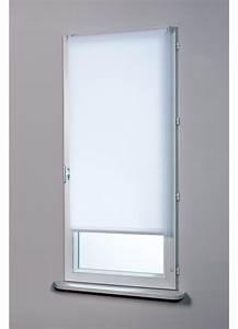 Store Enrouleur Blanc : store enrouleur tamisant blanc gris ivoire rouge ~ Edinachiropracticcenter.com Idées de Décoration