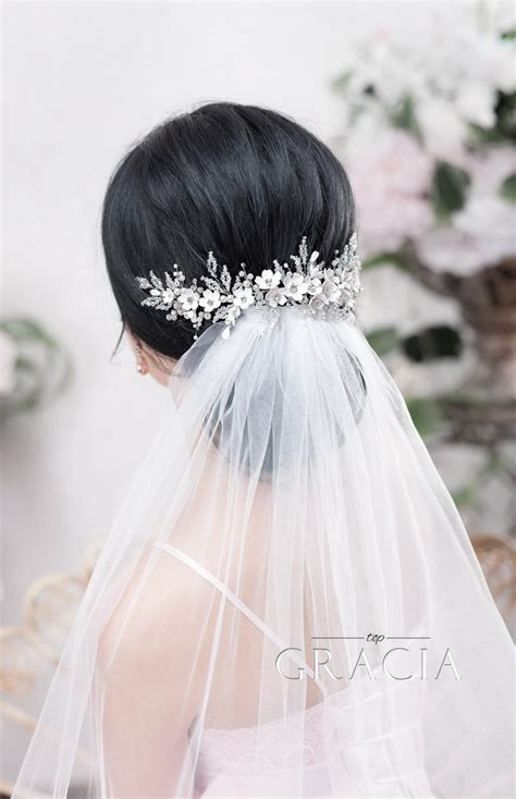 enhance romantic bridal hair