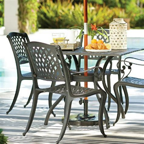 Outside Table And Chairs by Metal Patio Furniture You Ll Wayfair