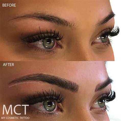 eyebrow tattoo feathering  cosmetic tattoo