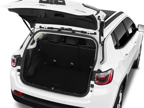 jeep compass 2017 trunk space image 2017 jeep compass latitude fwd ltd avail trunk
