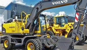 Volvo Ew145b Wheeled Excavator Service Repair Manual