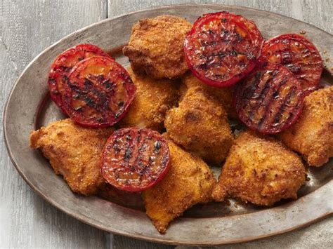 crispy grilled chicken thighs recipe food network