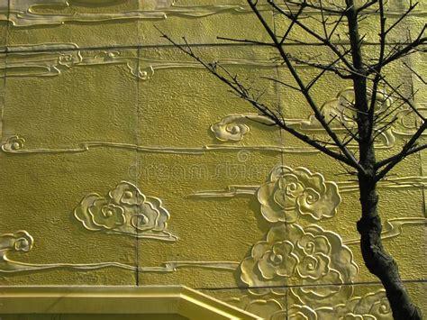 Goldene Wand Stockfoto. Bild Von Kapelle, Idolize