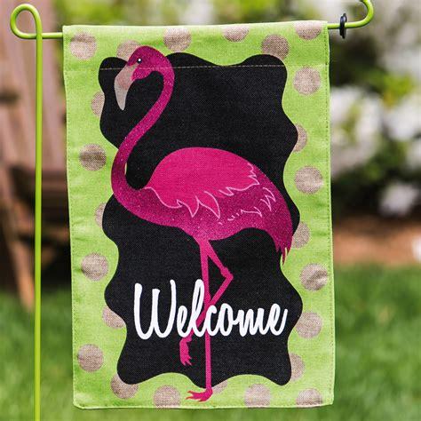 flamingo garden flags new year savings are here 62 flamingo garden