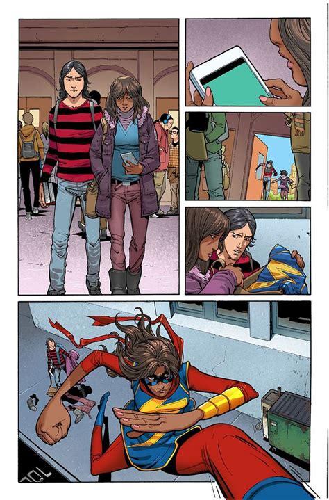 preview amazing spider man  peter meets kamala khan