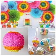 Decorating With Fiestaware This Rainbow Themed Scheme Is Ideal For A Fiesta Party See How Design