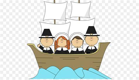 Cartoon Mayflower Boat by Mayflower Ii Pilgrims Thanksgiving Clip Art Silhouttee