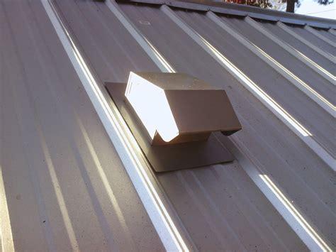 Venting Metal Hip Roof