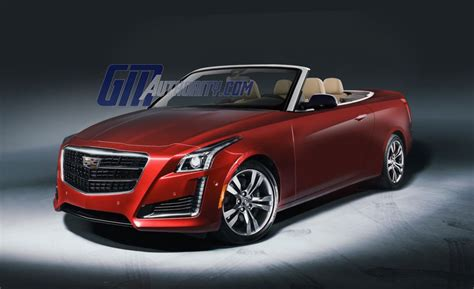 2016 Cadillac Cts Convertible Rendered