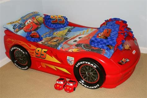 Lightning Mcqueen Toddler Bed by Disneycartoys Cars Themed Bedroom Disney Cars Toddler
