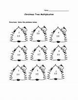 Worksheets Math Christmas Multiplication Printable Printables Maths Grade 3rd Coloring Ks1 Code Lessons Secret Worksheet Template Tree Addition 2nd Subtraction sketch template