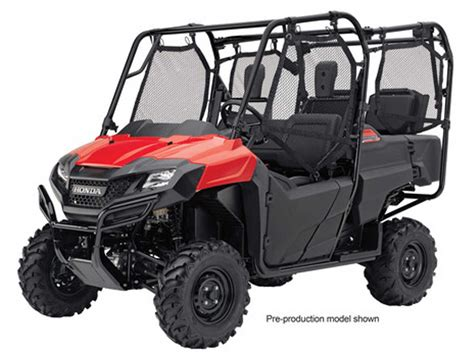 Four Seater by The Honda Pioneer 700 4 Atv Illustrated