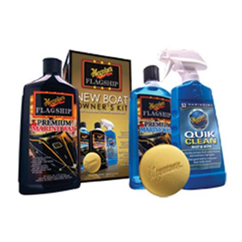 Meguiars Boat Wax Kit by Meguiar S New Boat Owner S Cleaning Kit 160934 Cleaning