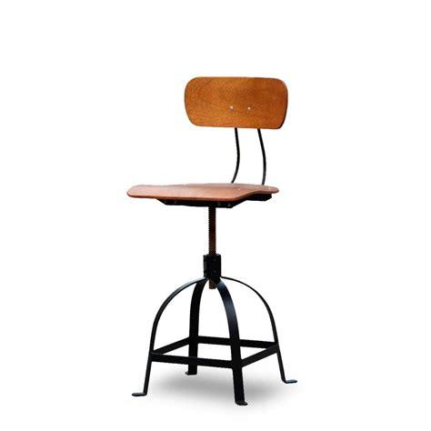 chaise hauteur plan de travail amazing chaise architecte jb pennel bois with tabouret