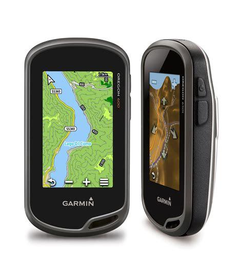 Gps per l'escursionismo nuovi Garmin Oregon serie 650 e