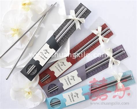 korean chopstick favor wedding favors practical favors